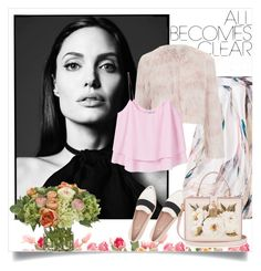 """Untitled #8"" by ausrine-just ❤ liked on Polyvore featuring NDI, RED Valentino, MANGO, Kate Spade and Dolce&Gabbana"