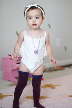 Socklings | Then Leotard Shop | Leotards | Toddler Fashion | OOTD | Socks | Carter's | Best Kids Fashion | Knee High Socks | Purple | Rett syndrome | AFO | Gymnastics | Mini Fashion | Toddler Clothes | Busy Little Izzy Blog