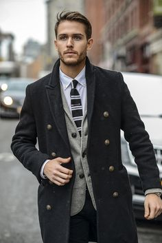 Unique shirt | J.Crew arrow tie bar | Check out the look at http://iamgalla.com/2015/01/first-snow/