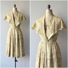 Newly listed • 1950s Bhiwandi dress • small