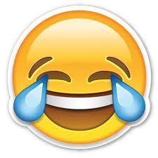 Resultado de imagen para emoji llorando de la risa