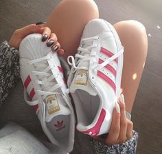new concept b3896 5e8eb adidas, pink, and shoes image