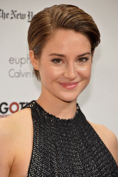 2013: The Year When All the Famous People Chopped Their Hair | Shailene Woodley