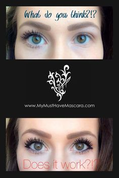 Tired of having no lashes?? This mascara is the answer!! No more extensions or falsies. Naturally based, safe for sensitive eyes and contact wearers, and very water resistant!