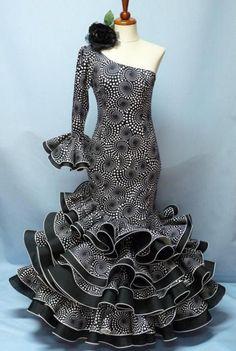 traje flamenco