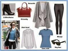 Street Style - Miranda Kerr http://fashionallovertheplace.blogspot.it/2014/01/street-style-miranda-kerr.html