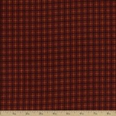 Flannel Elements Cotton Fabric - Red