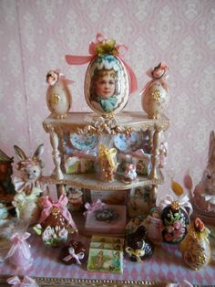 LE COFFRE D'EMILIE (jt-lovely Easter display)