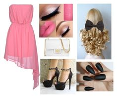 """""""On a date"""" by sanchez-ashley ❤ liked on Polyvore featuring Noshua, H&M and Design Inverso"""