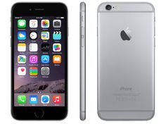 APPLE iPhone 6 16GB Asztroszürke kártyafüggetlen okostelefon