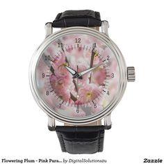 Flowering Plum - Pink Paradize Watch