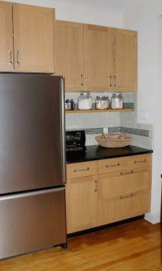 ikea tidaholm oak doors restoration hardware aubrey pulls - Restoration Hardware Kitchen Cabinet Pulls
