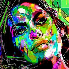 Hope you like it by Ovab art / sketch 227 #Artwork #Frenchartist #Popart #colorful #studiowork #digitalart