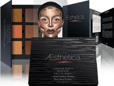 Tan to Dark Powder Contour Kit Pallett & Highlighting Beauty Cosmetic Makeup