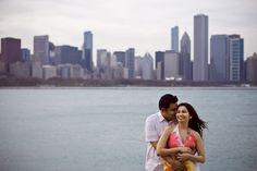 Samir & Dharna Chicago engagement photos! - LDP