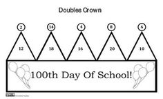 100th day of school crown by innovative teacher for 100th day of school crown template