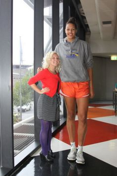 Have hit really tall women