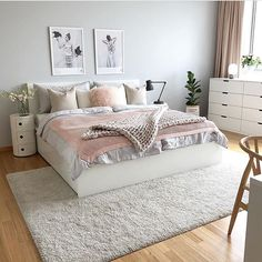 Home Interior Living Room .Home Interior Living Room Dream Rooms, Dream Bedroom, Home Decor Bedroom, Living Room Decor, Bedroom Rugs, Bedroom Furniture, Bedroom Decor For Women, White Furniture, Bedroom Ideas For Small Rooms Women