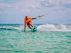 Learn to kitesurf in one of the best spots in the Caribbean. IKO certified kite lessons, camp, hotel in Buen Hombre and Cabarete, Republica Dominicana Bungalow On The Beach, Best Kiteboarding, Beach Accommodation, Beach Bungalows, Paradise Island, Turquoise Water, Surf Style, Fishing Villages, Rest Of The World