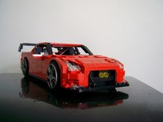 Nissan GT-R R35 N�rburgring Nordschleife Edition: A LEGO® creation by Alexander Paschoaletto : MOCpages.com