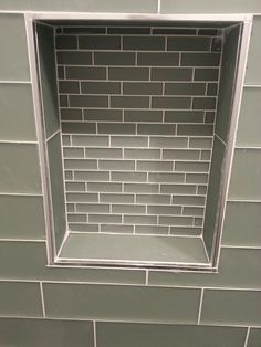 Emser Tile With Schluter Edge To Finish It Off Nicely How