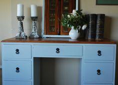 Upcycled desk by Blossom & Co  blossomandconz.com