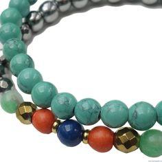 Zestaw druzy z medalionem 30 mm - jasnoróżowy 30th, Turquoise Bracelet, Swarovski, Bracelets, Jewelry, Fashion, Bangles, Jewlery, Moda