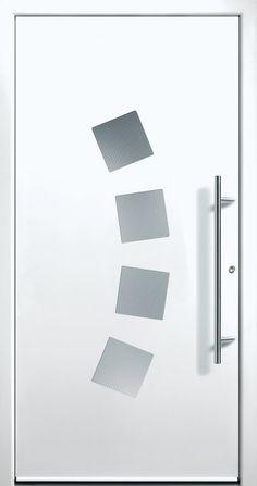 Modern Entry Doors - Modern Entry Door Modern Entry Door, Modern Exterior Doors, Entry Doors, Entrance, Modern Windows And Doors, Modern Driveway, Iron Doors, Door Design, Phoenix