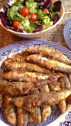 sardines à la chermoula Algéroise, recette Pieds-noirs
