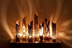 Bamboe verlichting