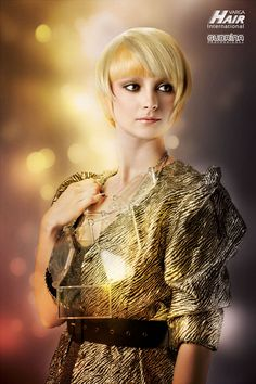 """GOLD AURA Cut: Sanja Karasman for Varga Hair Internationals - Color System """"Subrina Professional"""" Cut And Color, Hair Trends, Hair Beauty, Gold, Collection, In Style Hair, Latest Hairstyles, Cute Hair"""