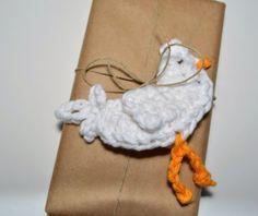 Crochet Chicken Ornaments