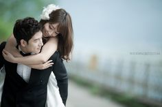 "Korea Pre-Wedding Photoshoot - WeddingRitz.com » ""Winter Sonata"" by 9EXPOSURE studio in Nami island"