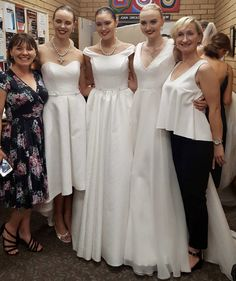 Some great photos from the 'Lights of Paddington' fashion show last Friday. Team Paddington had a wonderful time, our Bertossi Brides gowns looked sensational on the catwalk with all the other inspirational fashion from Paddington on the night.  Models hair was by the fabulous Josh from Globe Creative and the stunning jewellery from JewelsNY We were even able to just wheel the gowns back down the road after the show!!!
