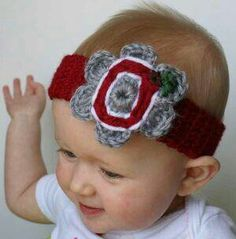 Cause her daddy is an ohio state buckeye fan
