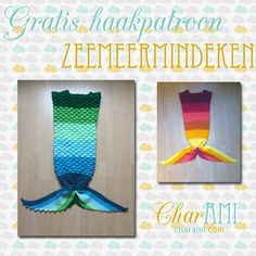 Gratis haakpatroon: Zeemeermindeken | Charami.com