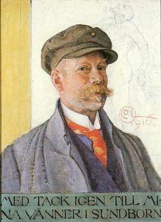 Carl Larsson... Self portrait