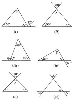 NCERT Solutions for Class 7 Maths Chapter 6 The Triangle and its Properties Ex Geometry Formulas, Mathematics Geometry, Teaching Geometry, Maths Ncert Solutions, Math Sheets, 2nd Grade Math Worksheets, Math Boards, Dear Students, Math Talk