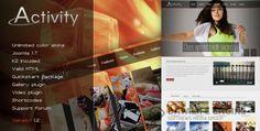 Activity V1.2 - Premium Joomla Template