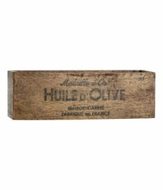 H&M Puulaatikko 12,95