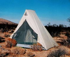 explorer tent. by beckel canvas.