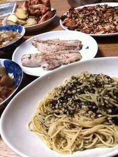 2日連続の家飲みの残りで夕御飯できちゃった - 7件のもぐもぐ - ニンジンジェノベーゼ by mamaru3