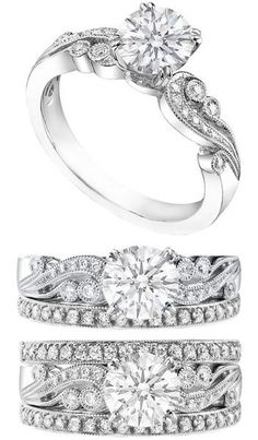 engagement rings and wedding rings / http://www.himisspuff.com/engagement-rings-wedding-rings/29/