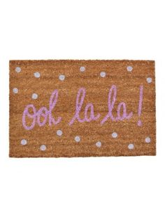 Ooh La La Doormat