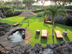 A friend's home in Hawaii