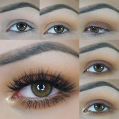 This neutral combination is made of sugar and spice and everything nice! Soft warm tones look sweet on the lids, while the metallic touch on the lower lash line adds a little somethin' somethin' (that