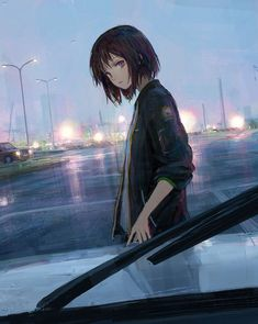 Awesome k t qu hinh nh cho anime girl short hair image for black style and trend – Anime Art Fille Anime Cool, Art Anime Fille, Cool Anime Girl, Beautiful Anime Girl, Anime Art Girl, Sad Girl Art, Awesome Anime, Manga Girl, Manga Anime