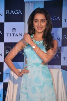 Shraddha Kapoor launches the Raga Pearls collection of watches | PINKVILLA