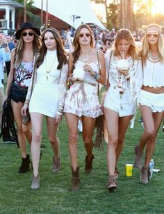 Alessandra Ambrosio - Coachella Music Festival Day 3, 2015