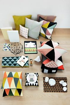 I've just remembered Primark are currently selling geometric patterned pillows- £7 I think! Design ikonik